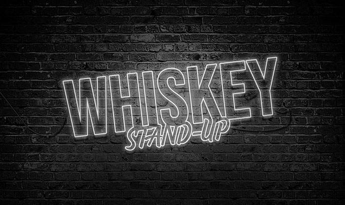 Whiskey stand Up